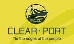 CLEAR・PORT Tie the edges of the people