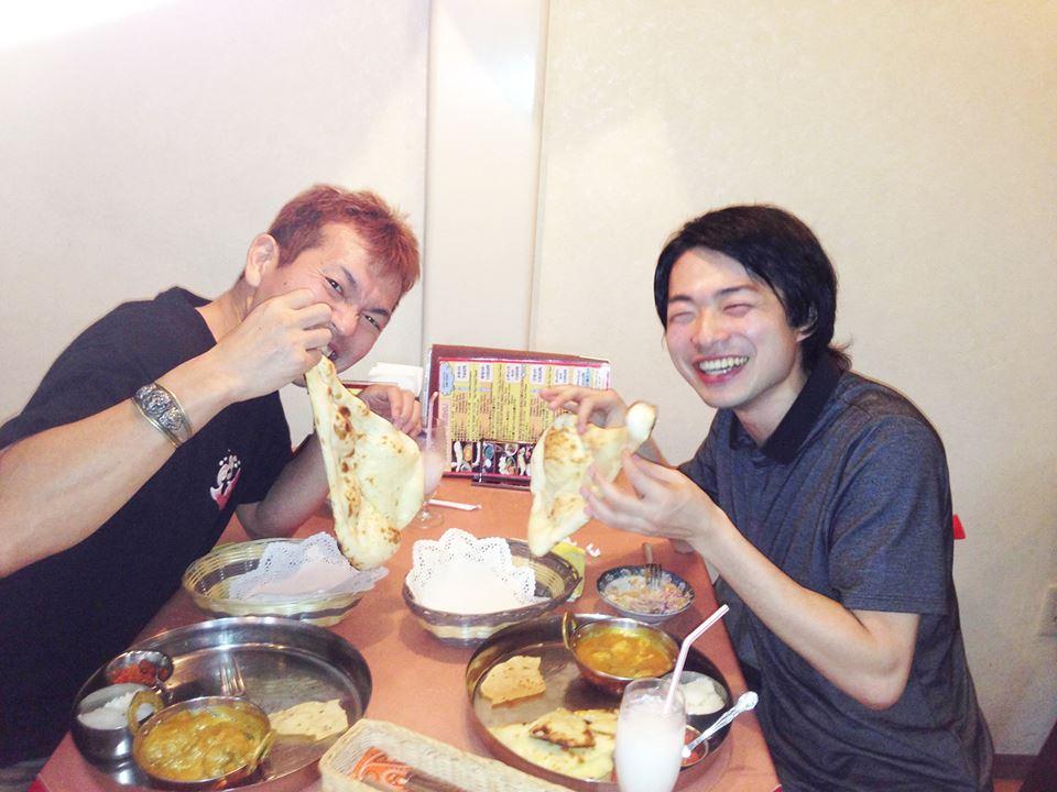 寺田整骨院の寺田先生とお食事と美顔