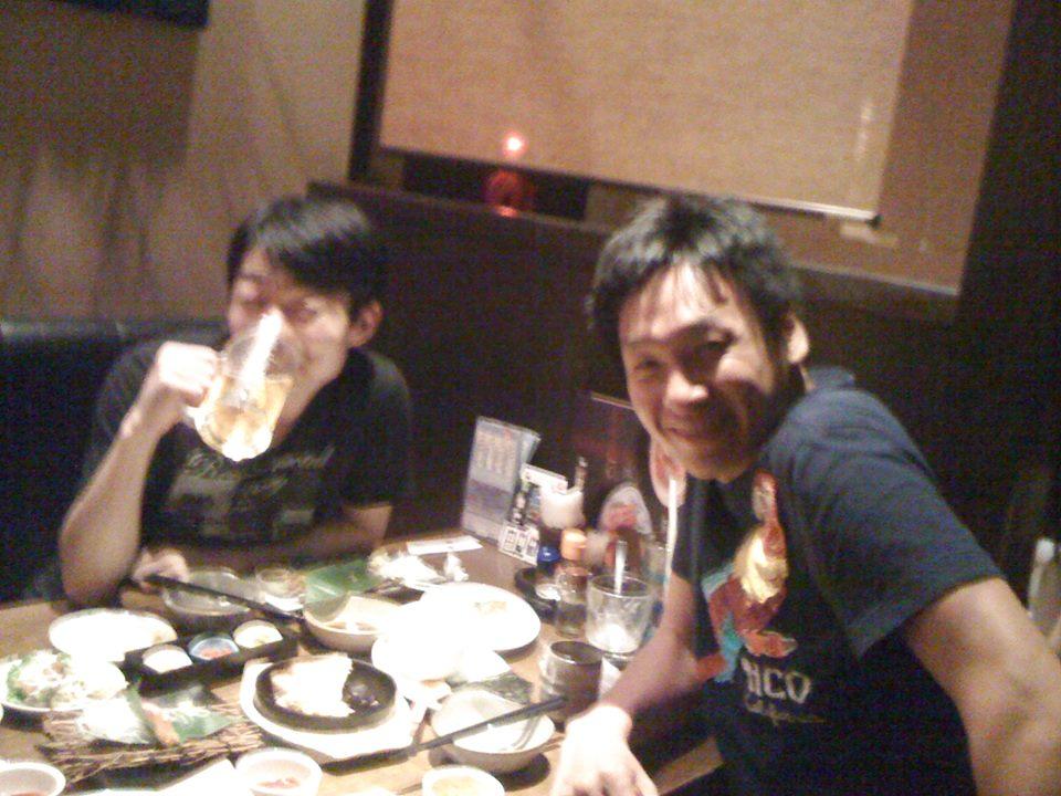 保井 敦史先生と飲み会