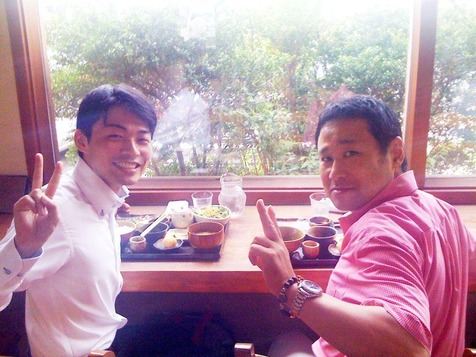 ひろた接骨院・整体院 廣田 岳士先生とお食事