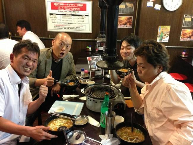 田和先生、寺田先生、郷田先生と飲み会