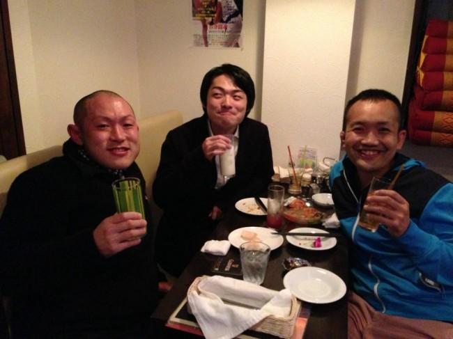 高子先生と太一先生とお食事
