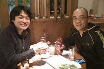 てらだ鍼灸整骨院、寺田先生と飲み会