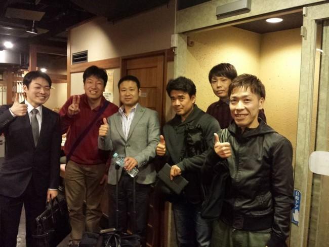廣田先生セミナー懇親会