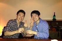 大阪で粟田先生と飲み会