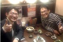 きらめき整骨院の柴田先生とお食事