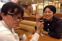 フィジオプラス株式会社の高田 浩瑞さんとお食事