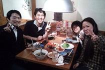 八木整骨院の八木先生とお食事|スタッフ紹介が素晴らしい!