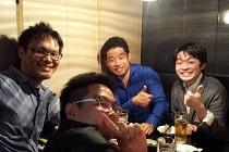 田村さん!馬越先生!!柴田先生!!!の超大物と飲み会
