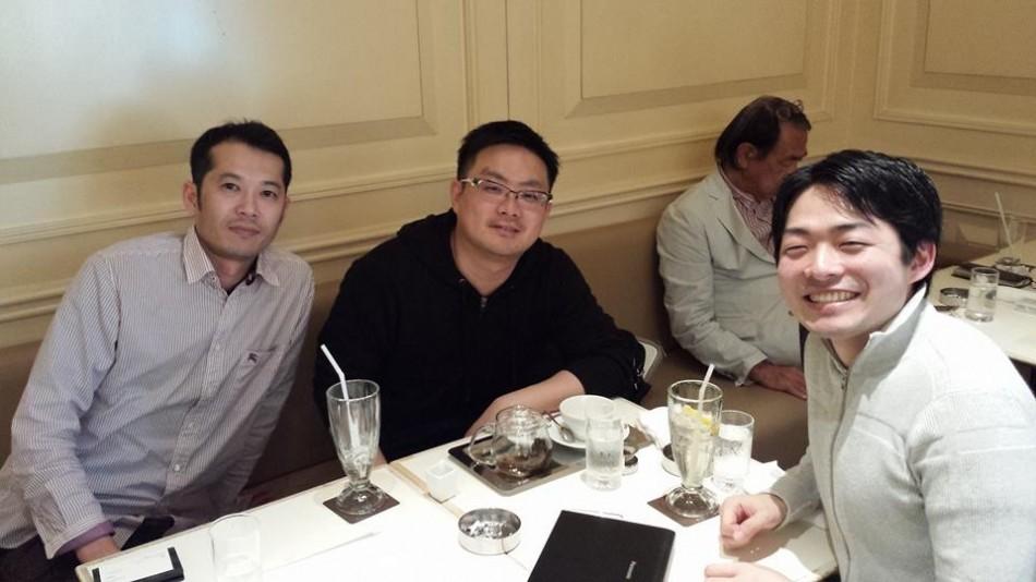 田村さん税理士の小川さん左迫間ミーティング