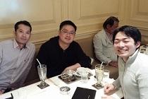 田村剛志さんと税理士法人 ALMA 小川 裕司さんミーティング