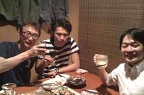 平良接骨院 平良剛先生と岩崎先生とご飯