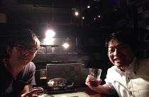 宮城県仙台より栗原先生とご一緒に飲み会