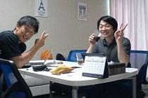 株式会社IVI チームネクストの張 徳義さんとミーティング