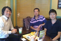 税理士法人 ALMA 小川裕司先生と八木剛先生と面談