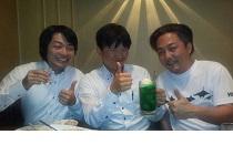 緑園都市整骨・鍼灸・マッサージ院 大石先生とフィジオプラス高田さんと飲み会