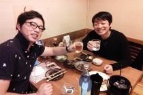 吉岡先生と飲み会|治療院で的確な集客をするフェイスブックの活用法