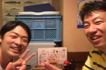 大阪にて、市田先生と飲み会