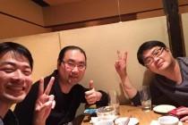 広江先生と田村さんの飲み会