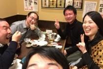 安東さん夫婦とウェッティーで御飯!